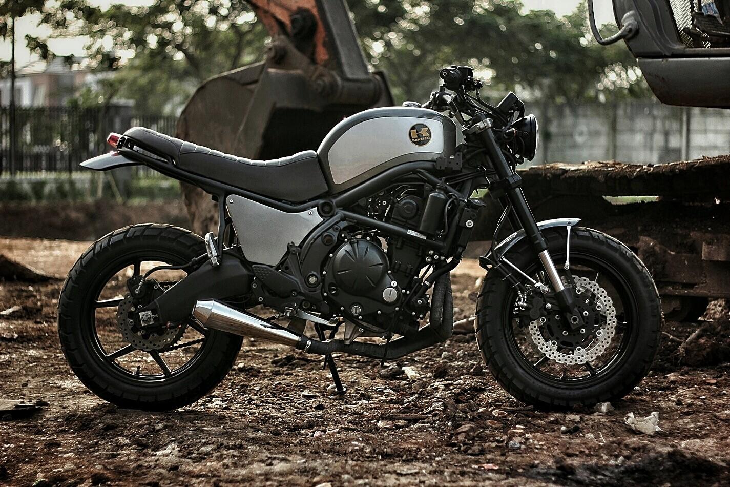 A Kawasaki Versys 650 Scrambler Is Not A Thing We See