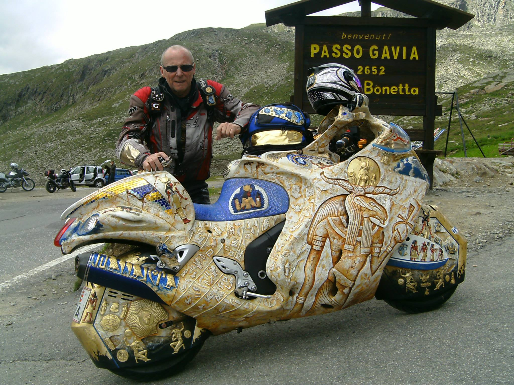 A Pharaoh S Hayabusa On The Recently Open Gavia Pass 61114 on electric car humor