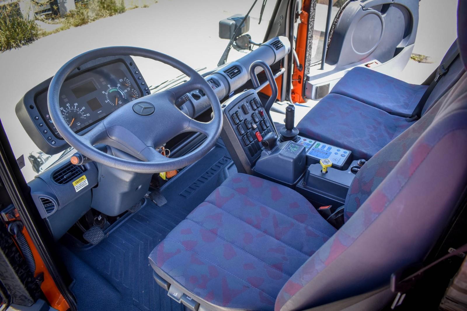 A Rare, Virtually New 2003 Mercedes-Benz Unimog U500 Is ...
