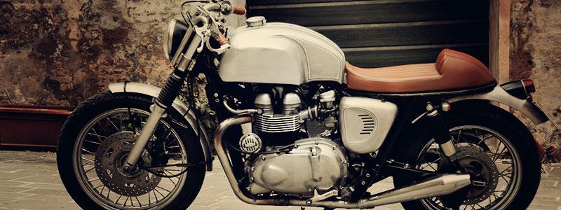 A Romantic Triumph Bonneville From Fmw Motorcycles