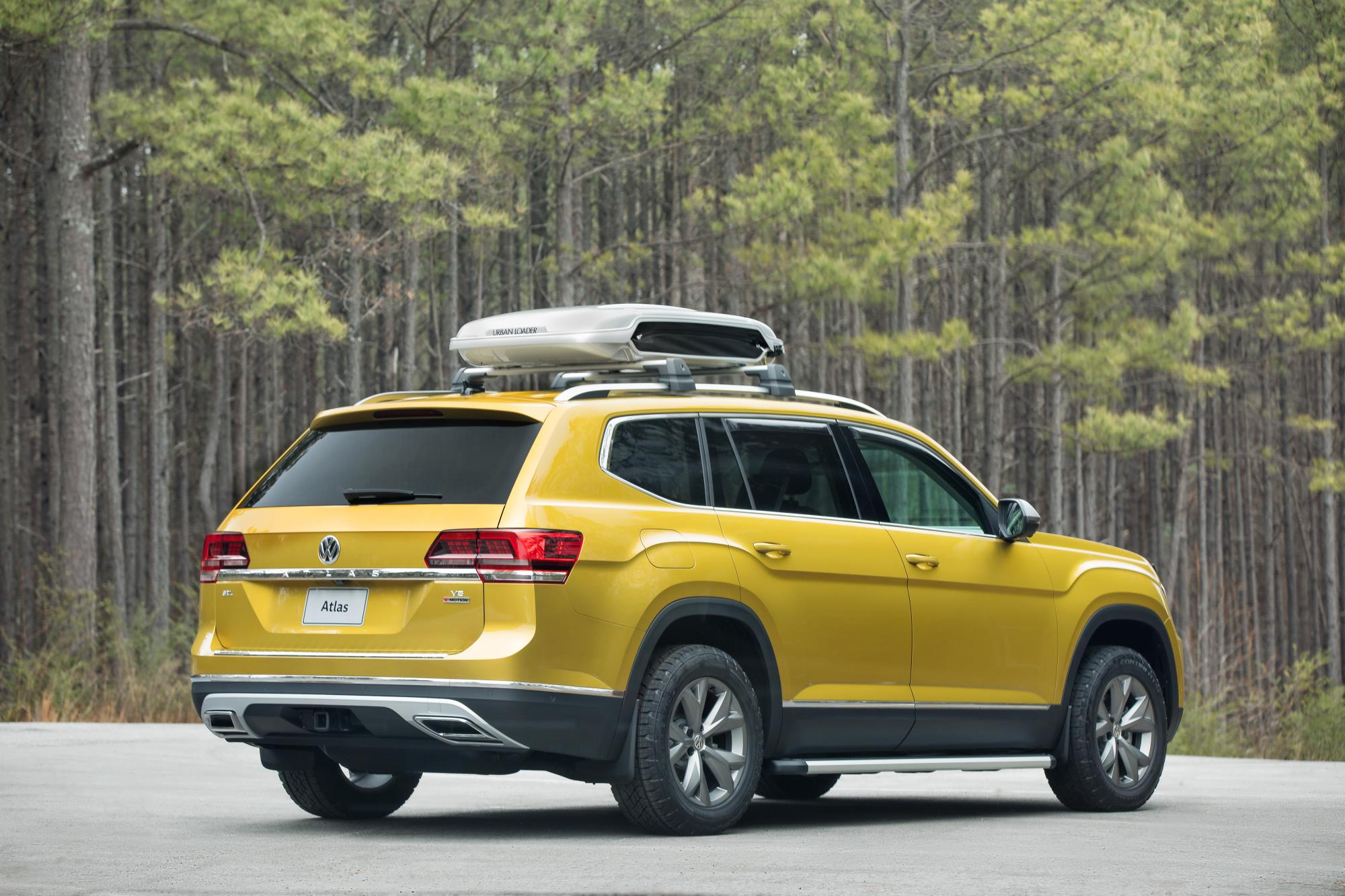Volkswagen Atlas Weekend Edition Volkswagen Atlas Weekend Edition ... & A Volkswagen Atlas With A Roof Box Is An Adventure Vehicle ... Aboutintivar.Com
