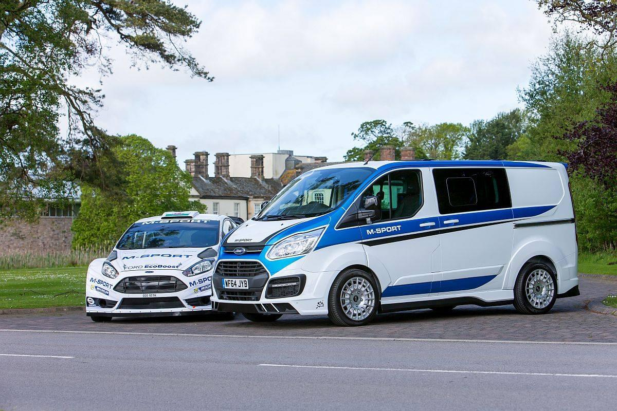 a wrc flavored ford transit van looks as mental as you. Black Bedroom Furniture Sets. Home Design Ideas