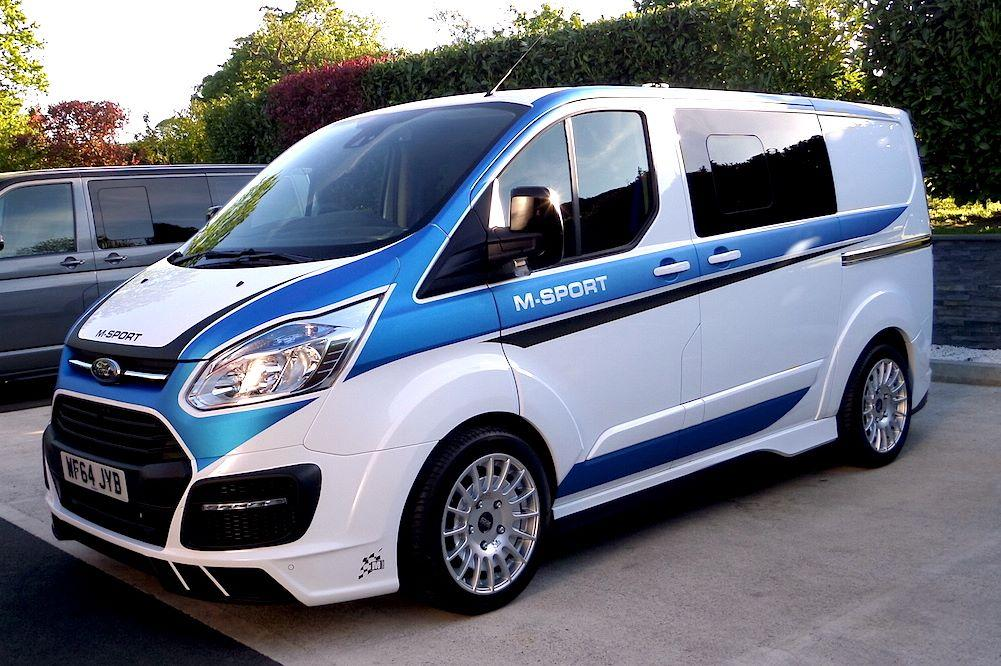 Ford Grand C Max >> A WRC-flavored Ford Transit Van Looks as Mental as You Think it Does - autoevolution
