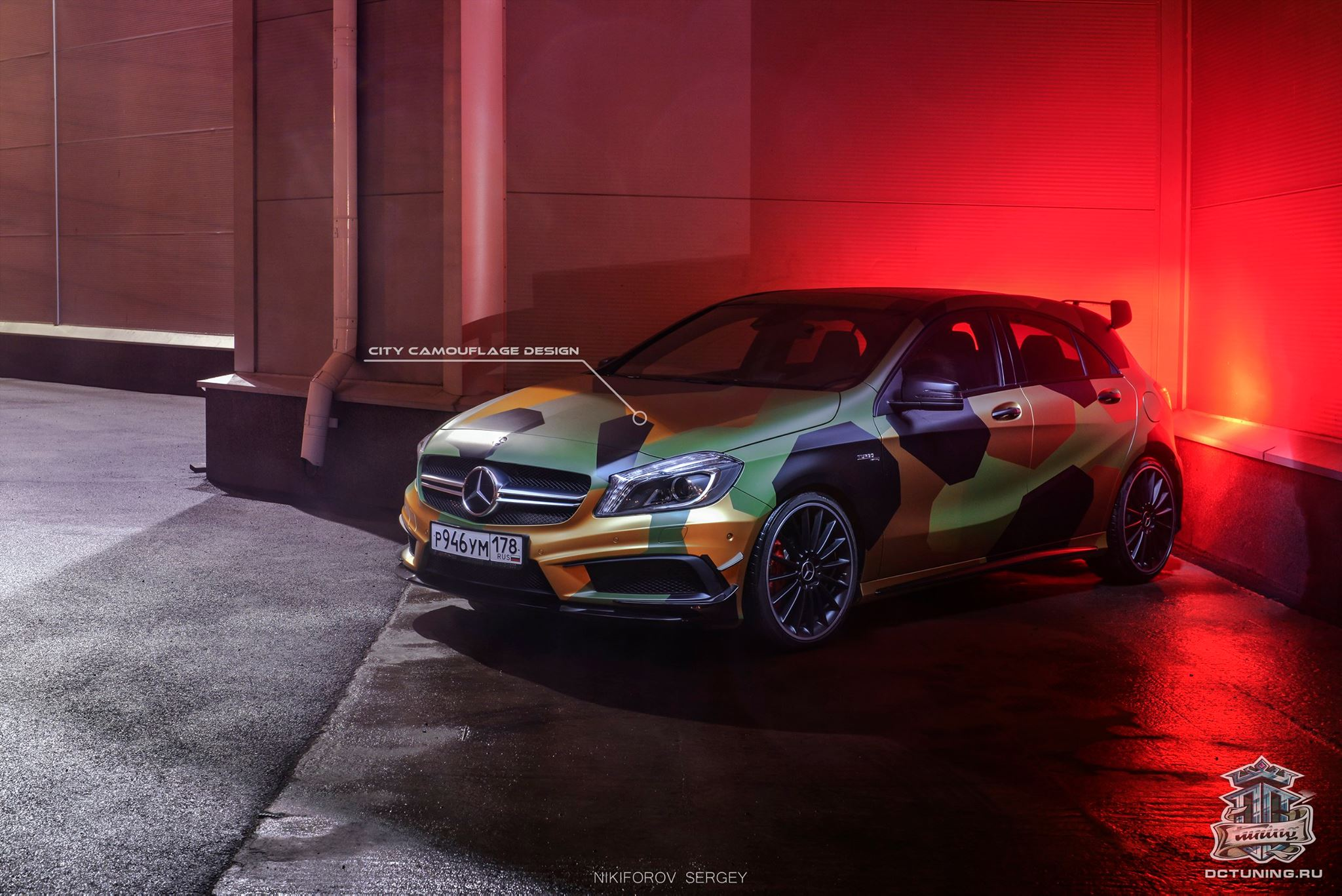 A45 AMG Gets City Camouflage Wrap from DC Tuning Russia ...