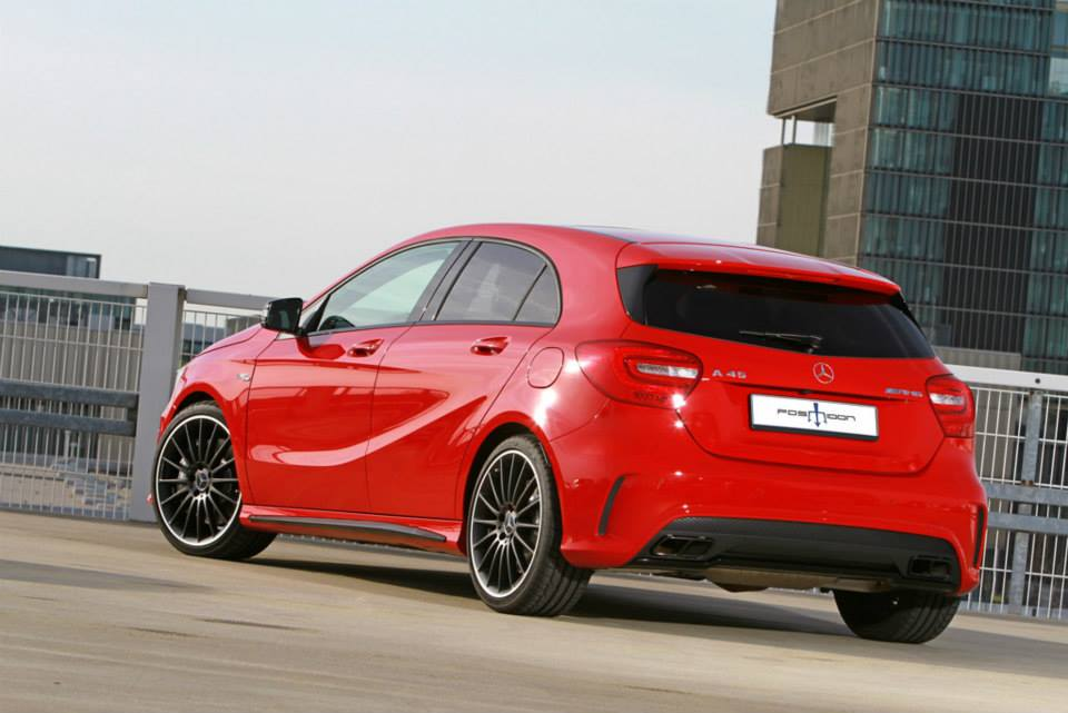 A45 AMG Gets Extra Poke from Posaidon Tuning - autoevolution