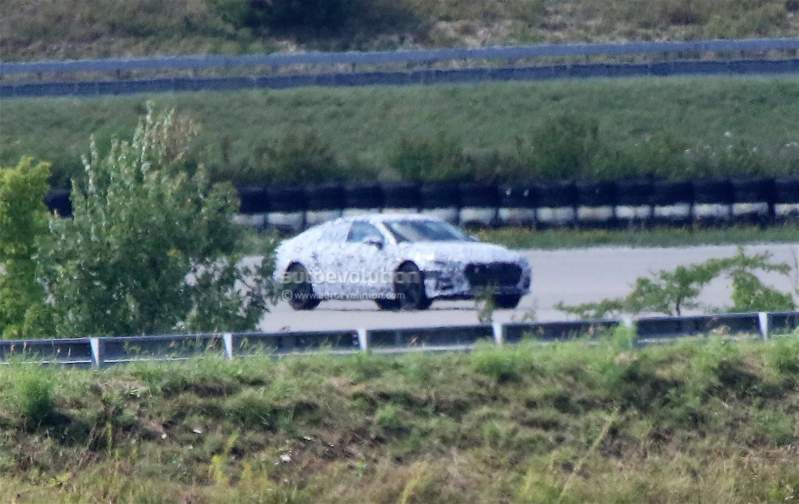 Next Generation Audi A7 Spied From A Distance Some Things