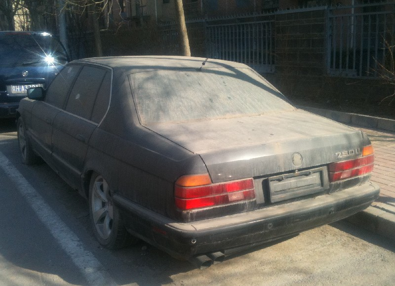 Abandoned Bmw E32 7 Series Spotted In China Autoevolution