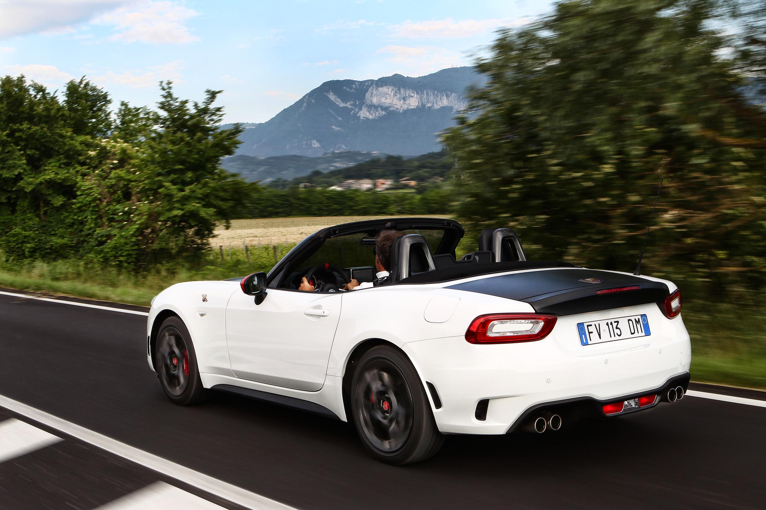 Abarth 124 Spider Launched In Japan 1 4l Turbo