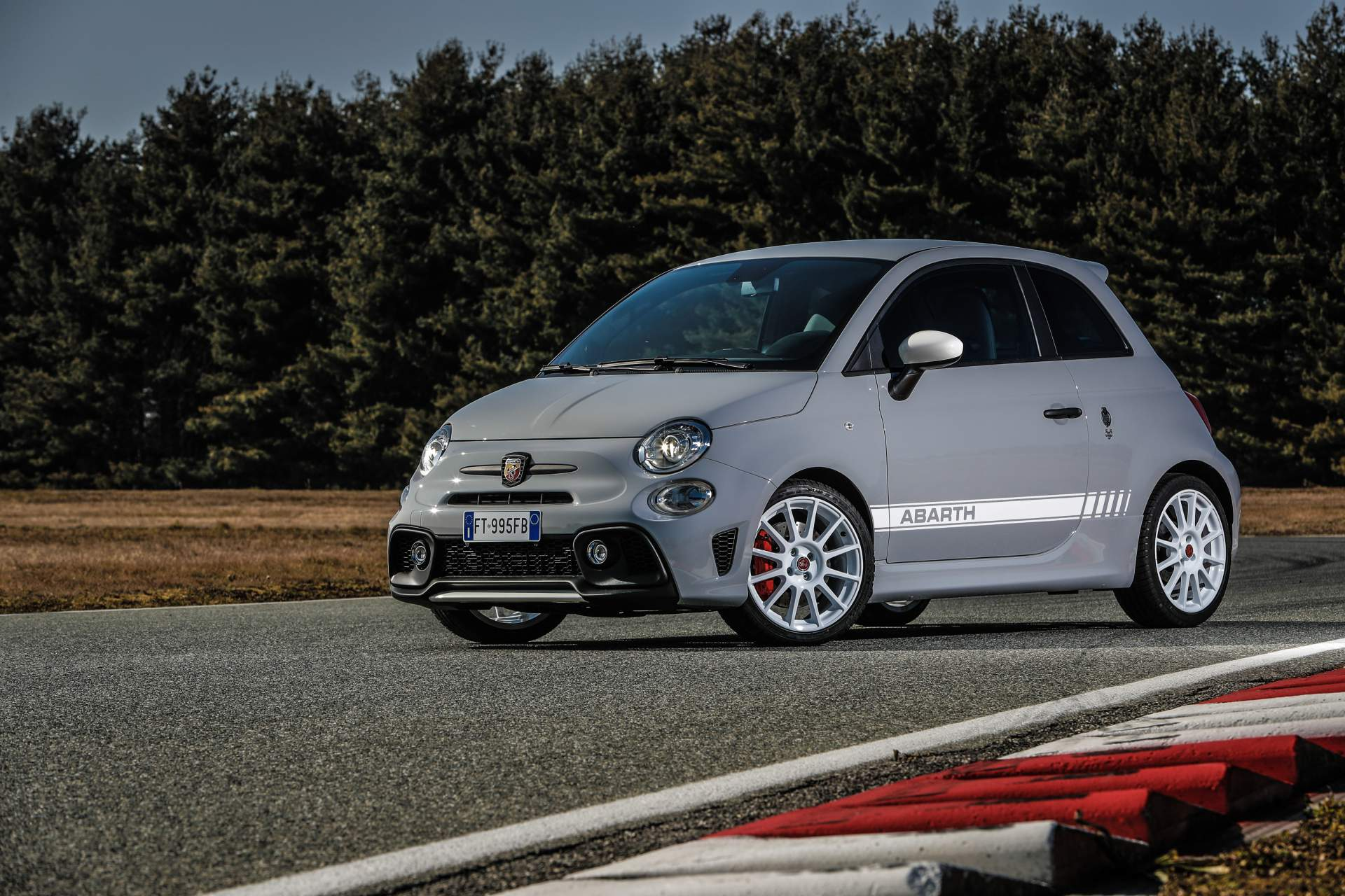 Abarth 595 esseesse Reveals With Awesome Grey Paint and ...