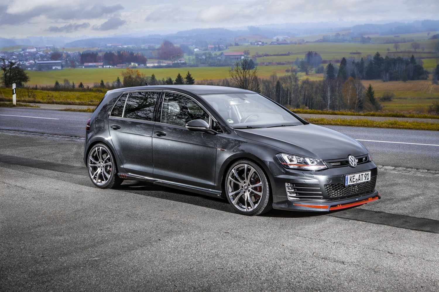 abt aero package for volkswagen golf gti costs 2 000. Black Bedroom Furniture Sets. Home Design Ideas