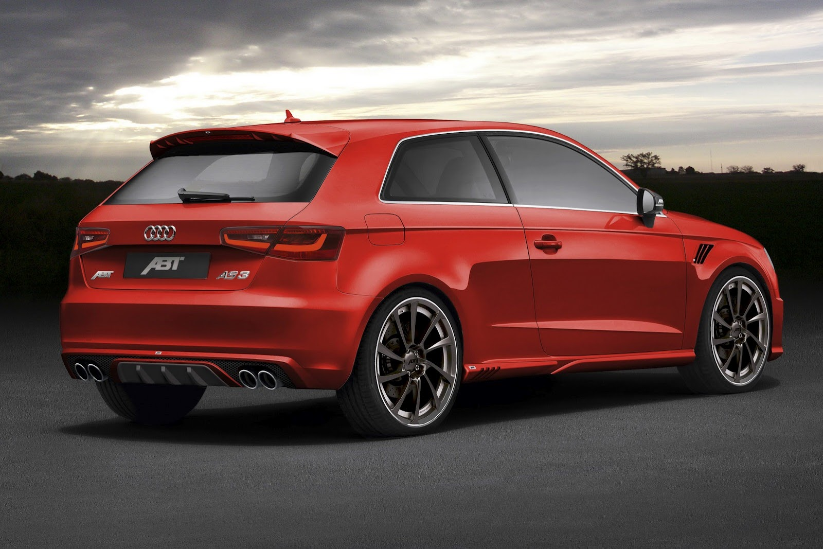 abt announces 2013 audi a3 tuning program autoevolution. Black Bedroom Furniture Sets. Home Design Ideas