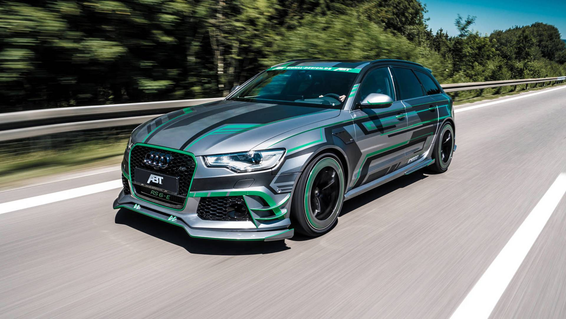 abt rs6 e is the hybrid audi rs6 avant that you can 39 t have autoevolution. Black Bedroom Furniture Sets. Home Design Ideas