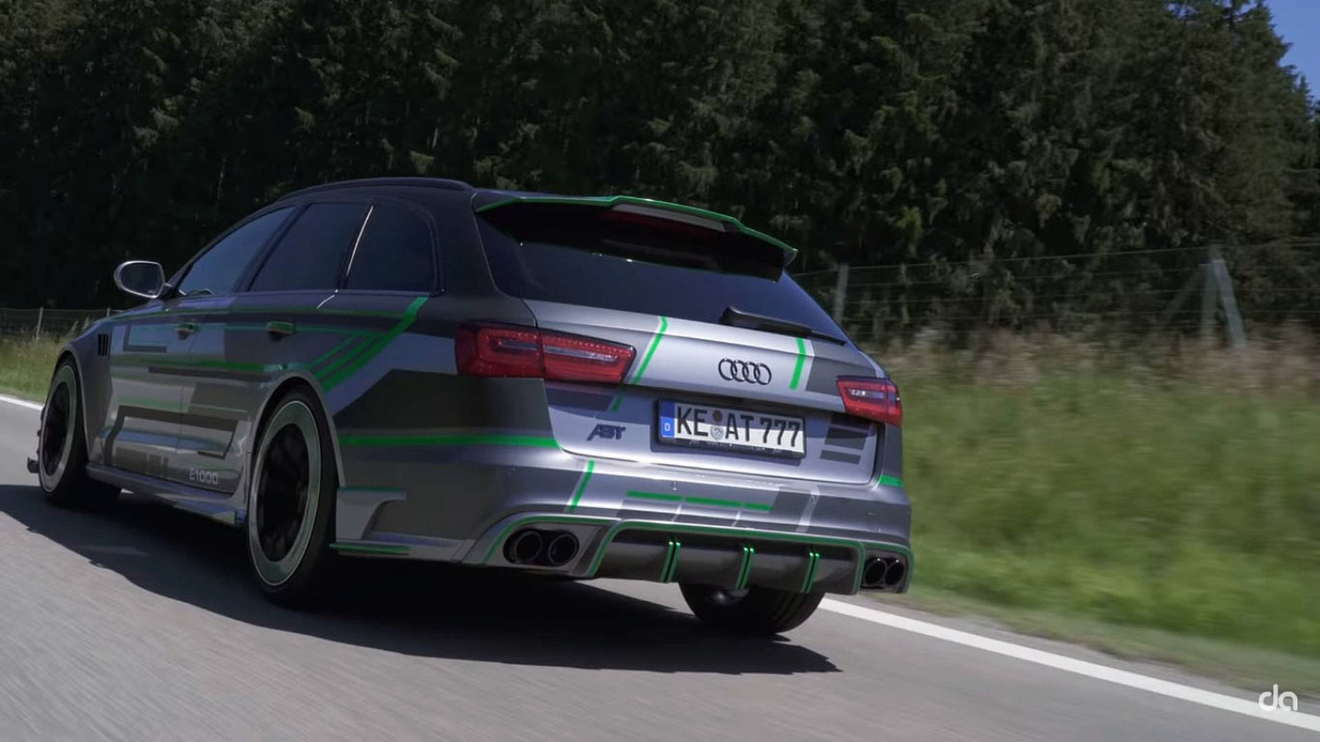 abt rs6 e is the hybrid audi rs6 avant that you can 39 t have. Black Bedroom Furniture Sets. Home Design Ideas