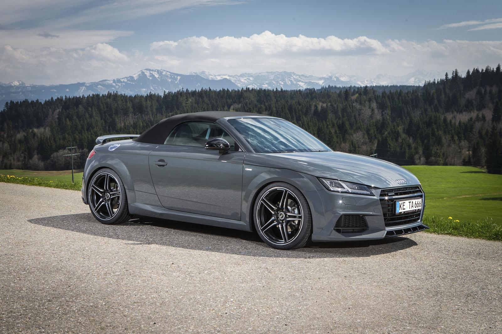 abt audi tt roadster has 310 ps and a wing autoevolution. Black Bedroom Furniture Sets. Home Design Ideas