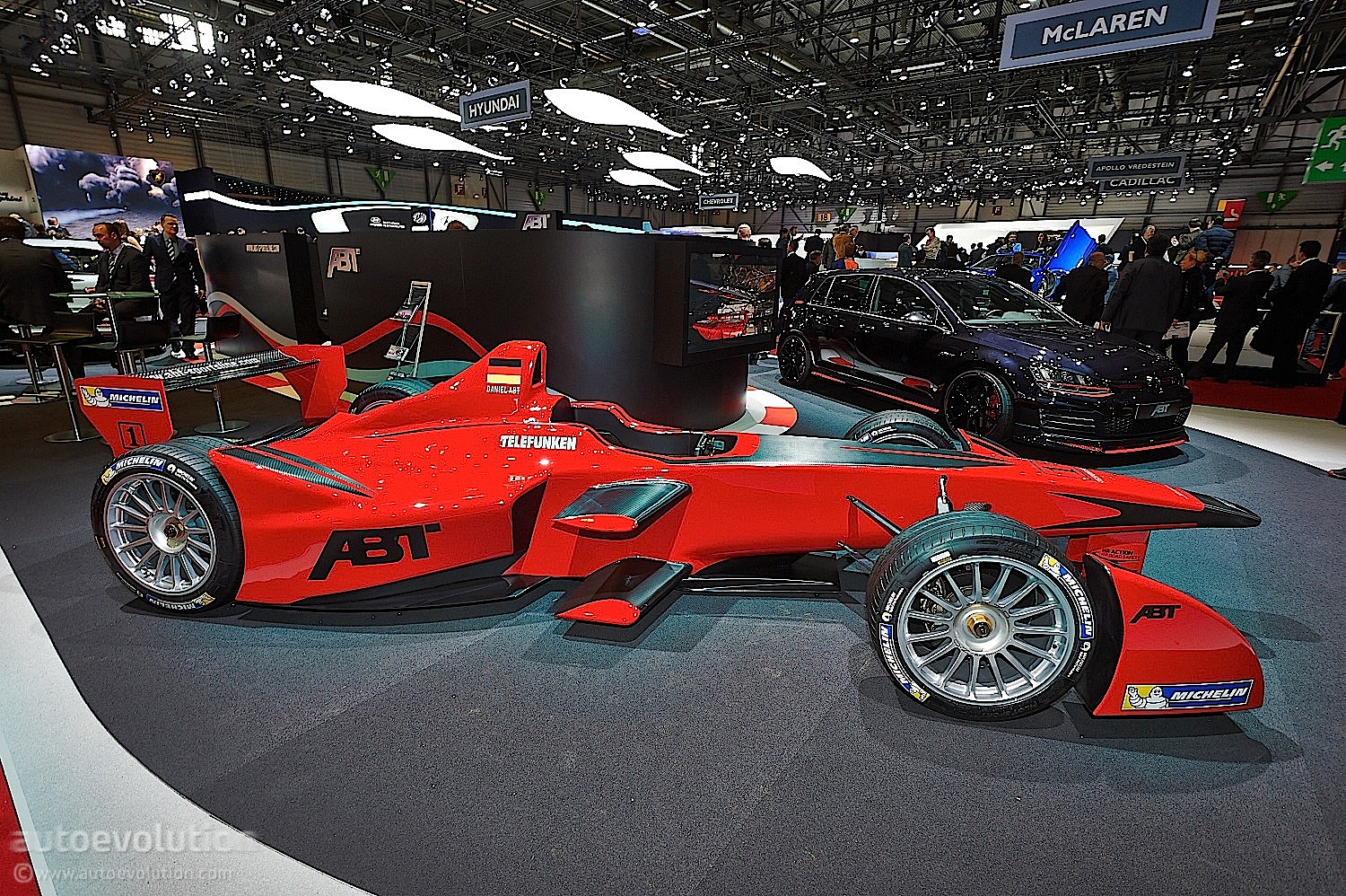 Abt Brings Formula E Car To Geneva Live Photos
