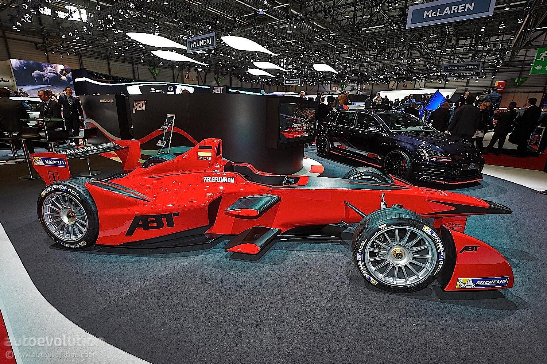 Abt Brings Formula E Car To Geneva Live Photos