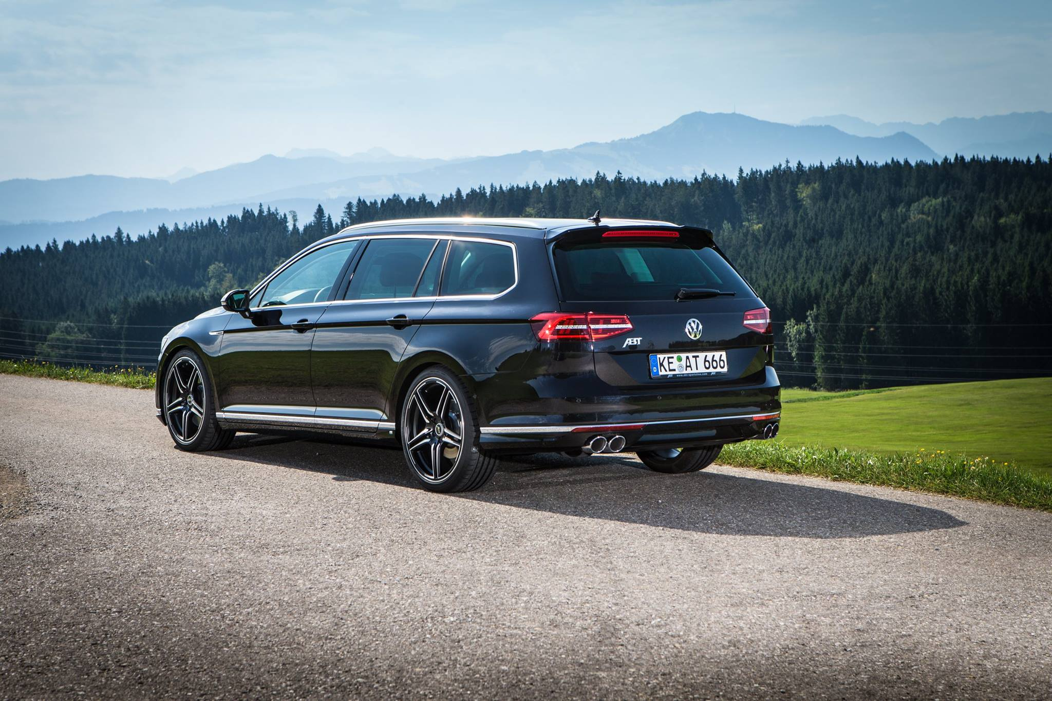 abt has 7 power kits for the new vw passat sedan and wagon autoevolution. Black Bedroom Furniture Sets. Home Design Ideas