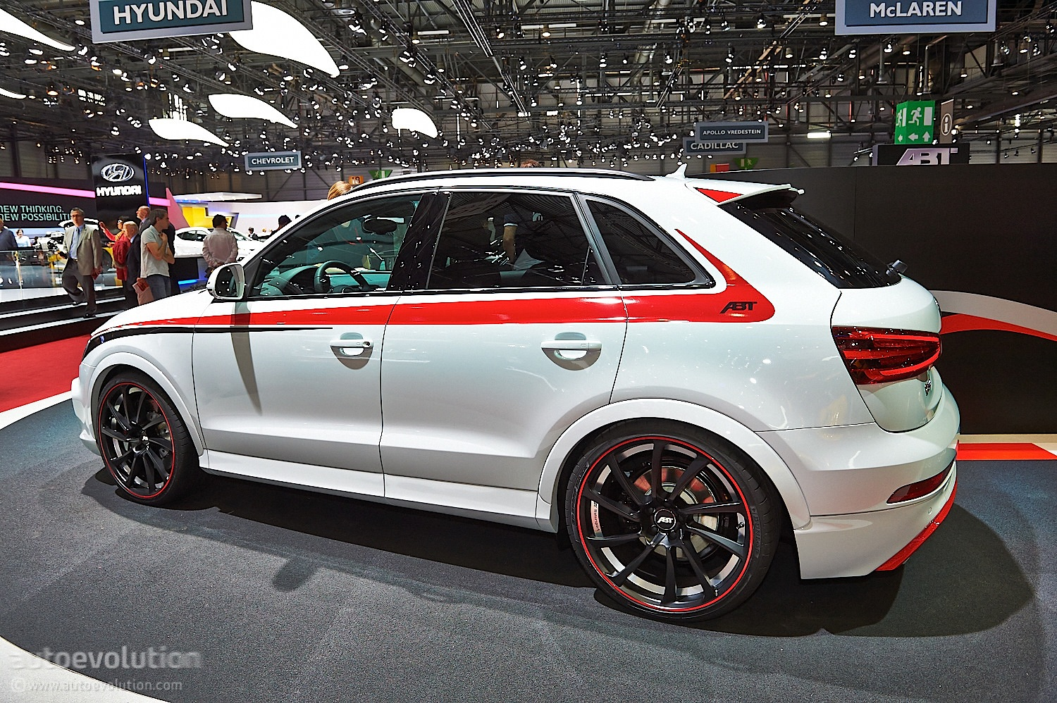 ABT Puts Power Back Into 25 TFSI With Audi RS Q3 Tuning