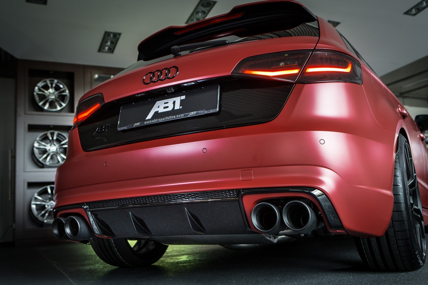 ABT Reveals 450 HP Audi RS3 Ahead of Essen Motor Show, Has ...