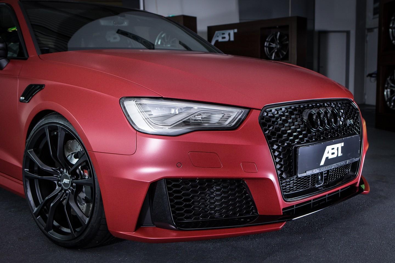 abt reveals 450 hp audi rs3 ahead of essen motor show has silver carbon trim autoevolution. Black Bedroom Furniture Sets. Home Design Ideas