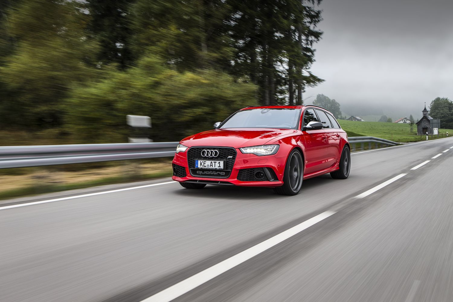 ABT's Tuned Audi RS6 Makes 700 HP, Reaches 320 KM/H ...