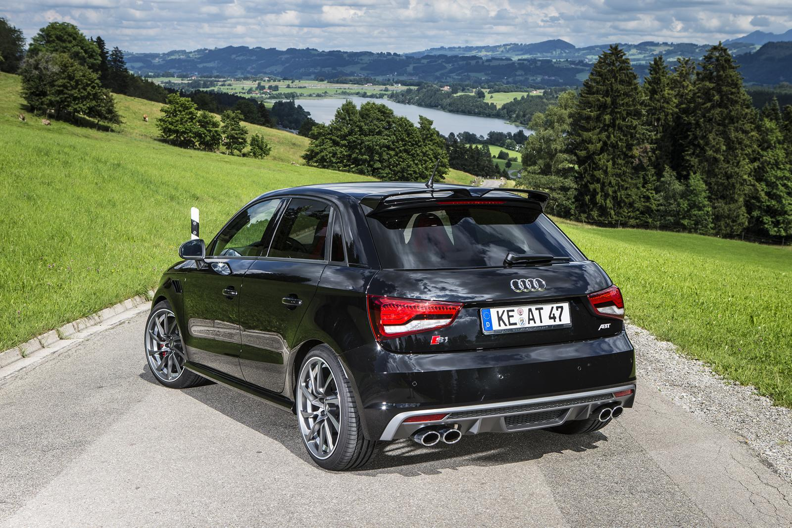 abt tuned audi s1 has more power than the s3 autoevolution. Black Bedroom Furniture Sets. Home Design Ideas