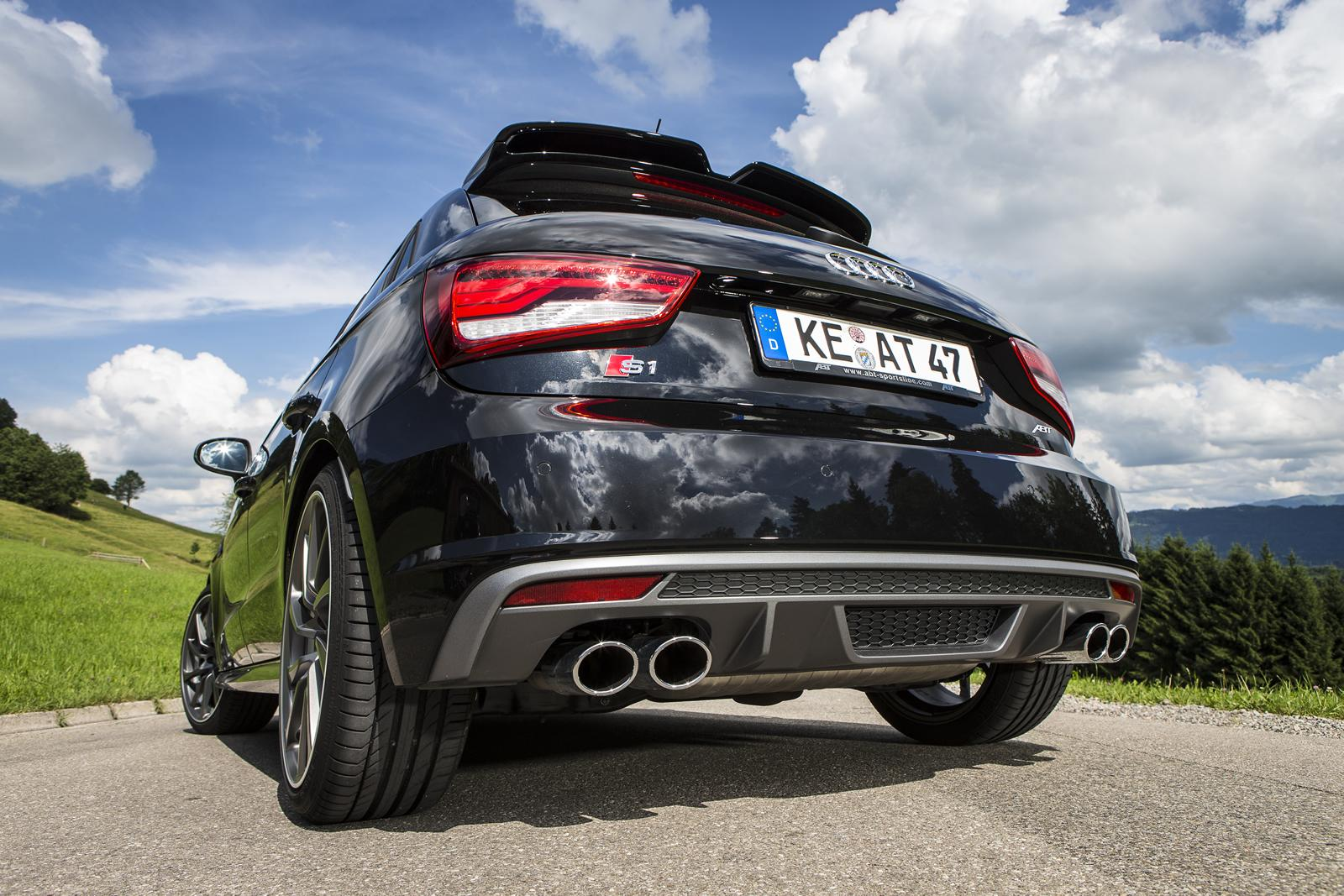 Audi Rs Q5 >> ABT-Tuned Audi S1 Has More Power than the S3 - autoevolution