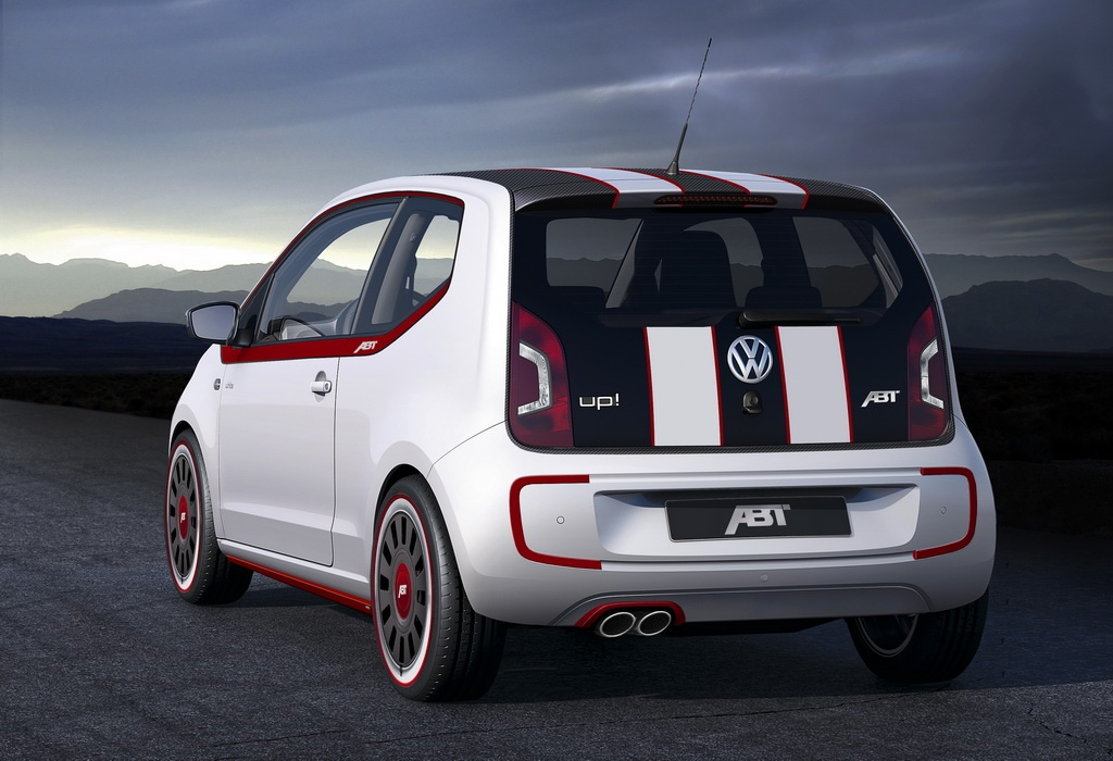 abt tuned vw up is retro chic autoevolution. Black Bedroom Furniture Sets. Home Design Ideas