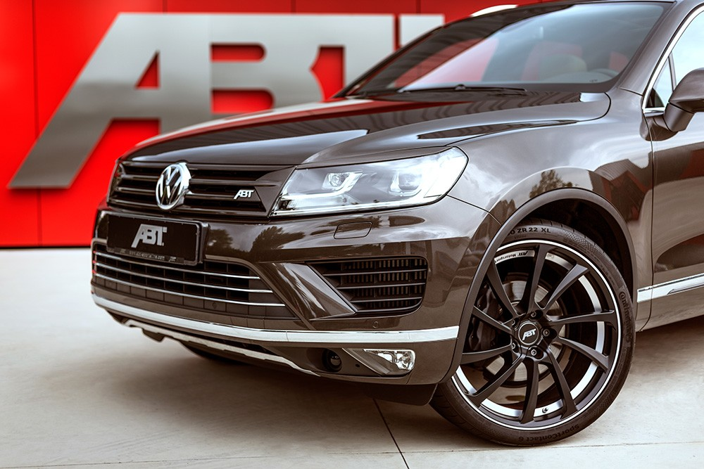 abt tunes vw touareg v8 to 385 hp and 880 nm autoevolution. Black Bedroom Furniture Sets. Home Design Ideas