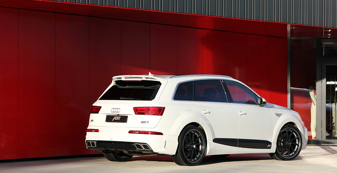 Volkswagen Group Latest Models >> ABT Unveils Tuning Kit For Second Generation Audi Q7, Calls It QS7 - autoevolution
