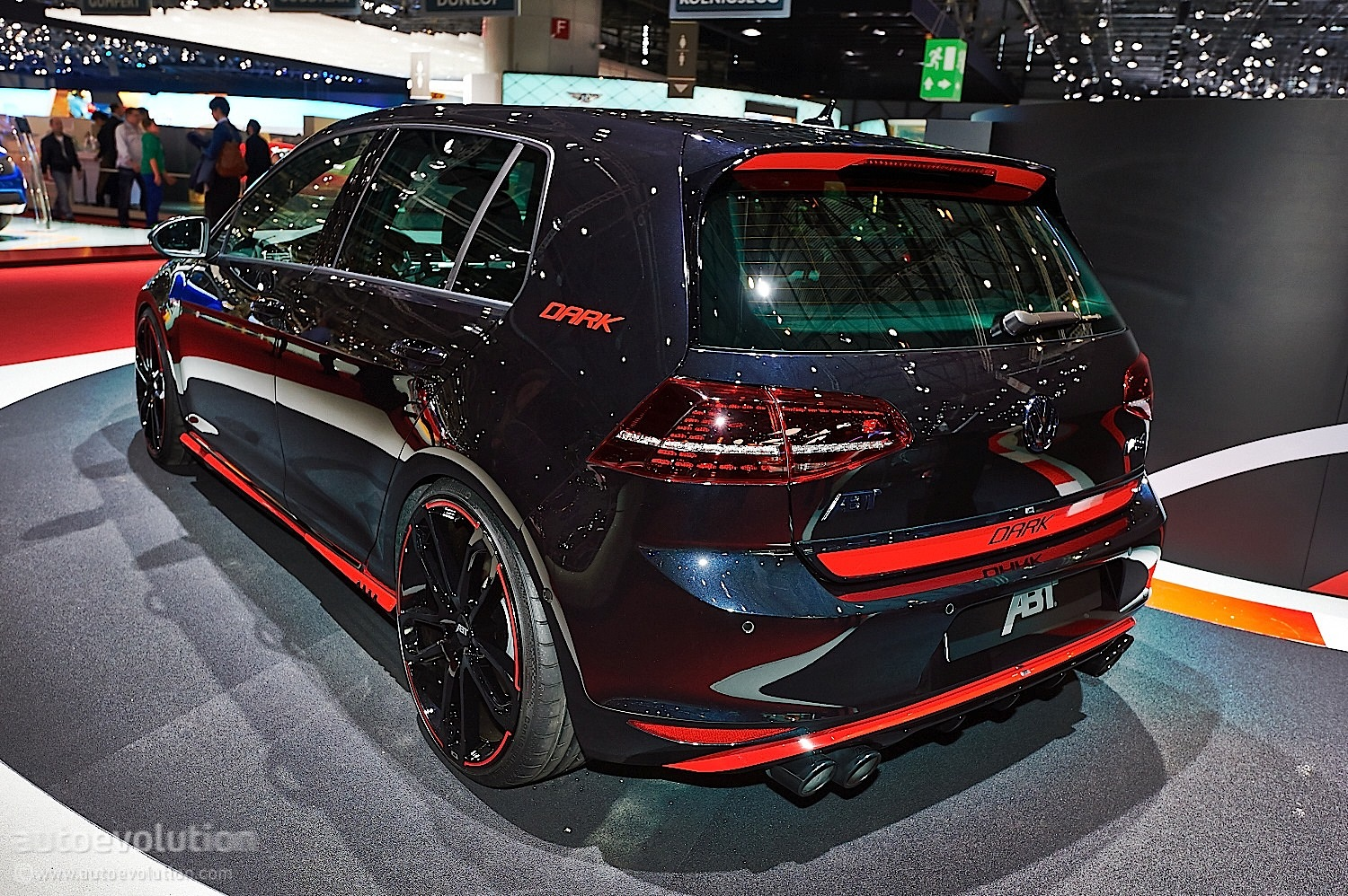 Abt Volkswagen Golf Gti Dark Edition In Geneva Live