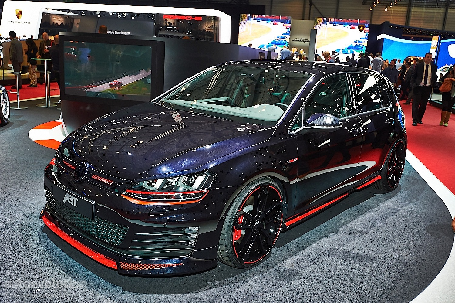 2014 abt golf vii gti dark edition dark cars wallpapers. Black Bedroom Furniture Sets. Home Design Ideas