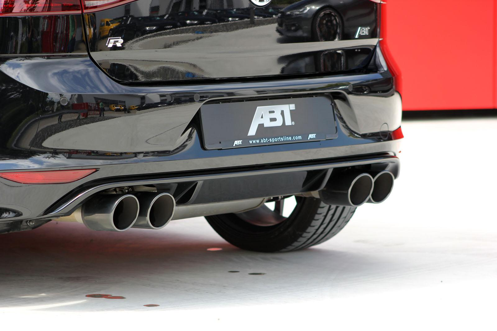 Выхлопные трубы Volkswagen Golf R от ABT Sportsline