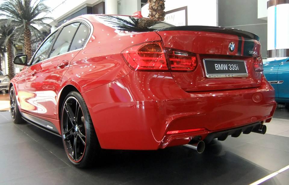 Abu Dhabi Melbourne Red M Performance Bmw 335i