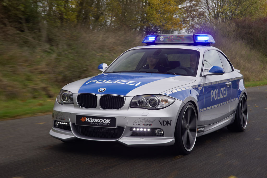 AC Schnitzer BMW 123d Polizei Revealed - autoevolution