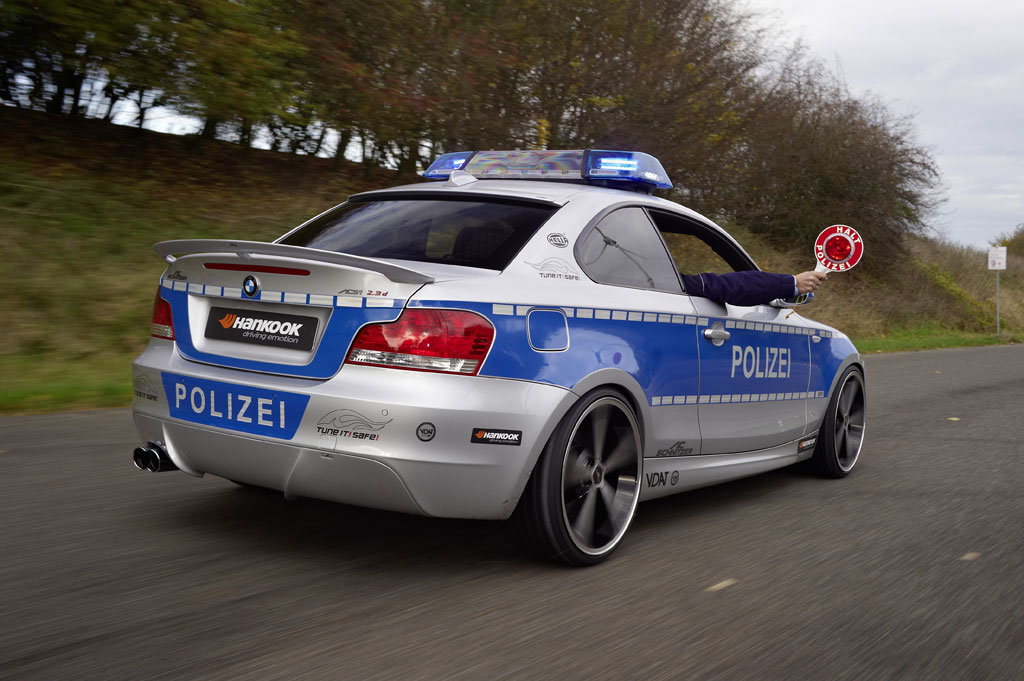 BMW Aftermarket Parts >> AC Schnitzer BMW 123d Polizei Revealed - autoevolution