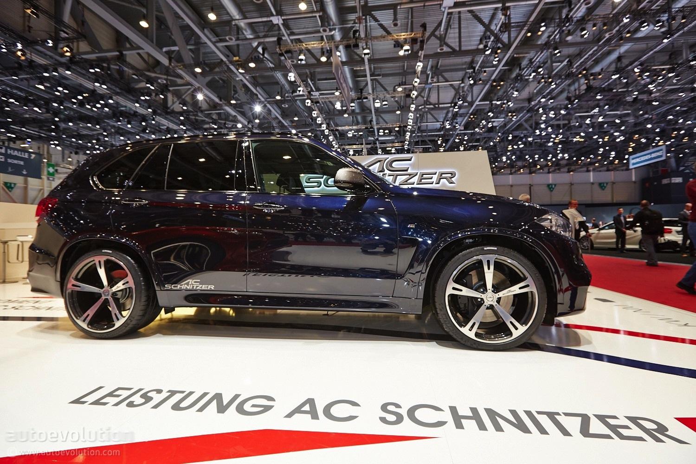 Ac Schnitzer Bmw X5 M50d Shines Bright In Geneva Live Photos Autoevolution
