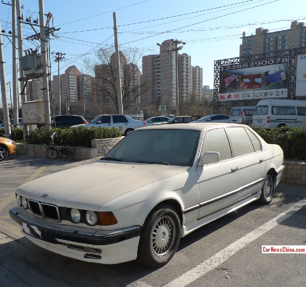AC Schnitzer E32 7 Series Lingers Next To Rolls-Royce In