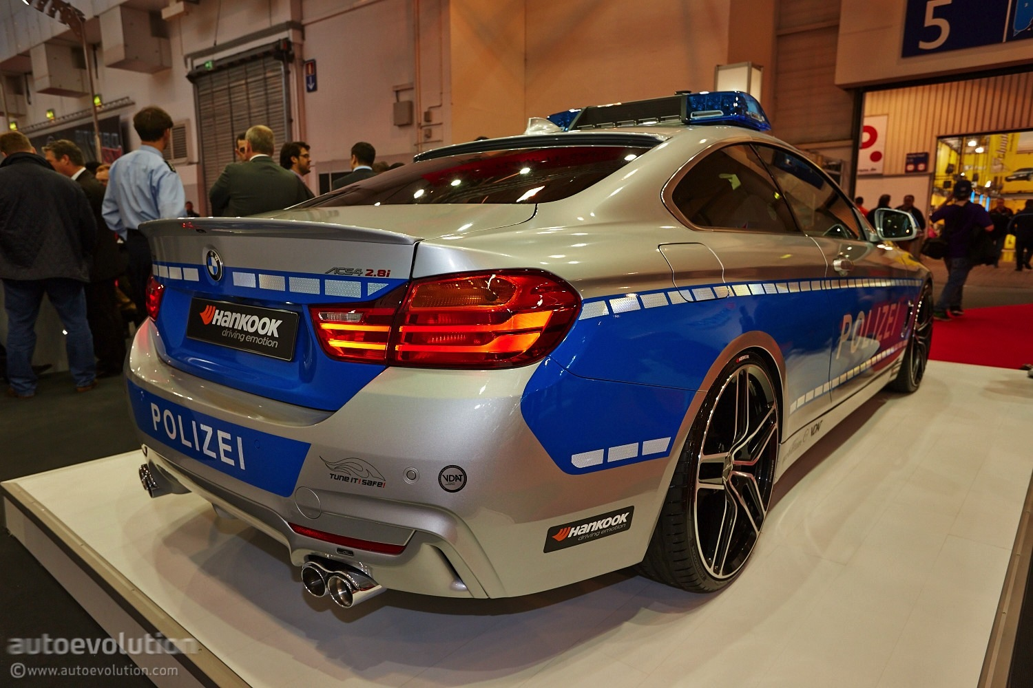 ac schnitzer police car has 294 hp at essen motor show 2013 live photos autoevolution. Black Bedroom Furniture Sets. Home Design Ideas