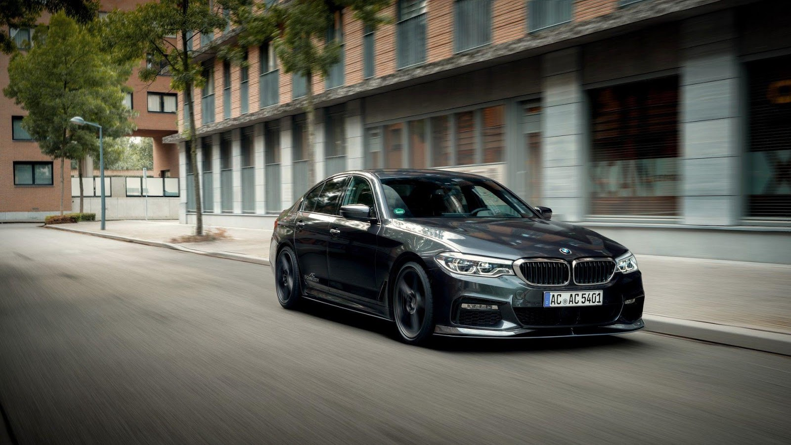 ac schnitzer reveals new bmw 5 series body kit and exhaust. Black Bedroom Furniture Sets. Home Design Ideas