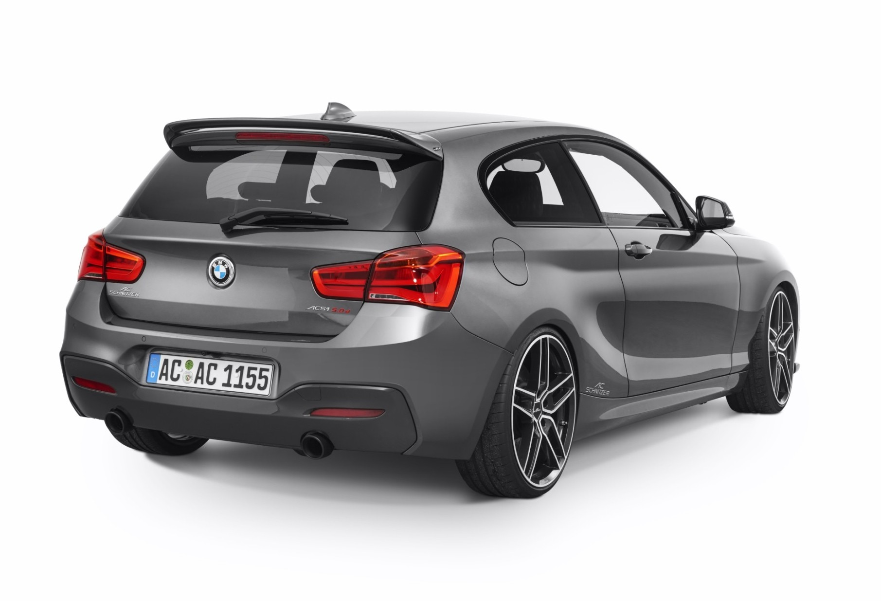 ac schnitzer shows bmw 150d a 1 series stuffed with tri turbo awesomeness autoevolution. Black Bedroom Furniture Sets. Home Design Ideas