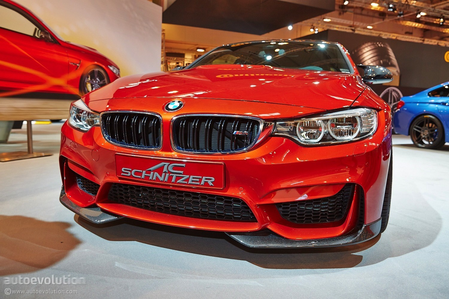 Ac schnitzer unveils bmw m4 with a wing on its boot at the Wing motors automobiles