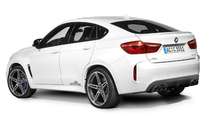 AC Schnitzer's BMW X6 M Has 650 HP  autoevolution