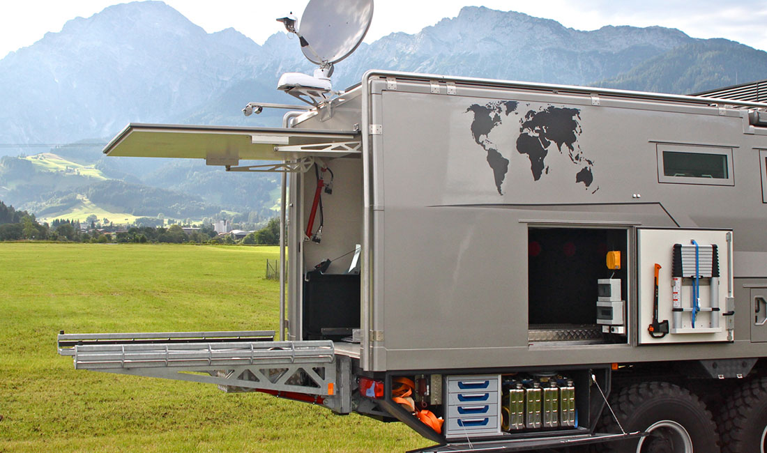 Action Mobil Global Xrs 7200 Is A Luxurious 6x6 Motorhome