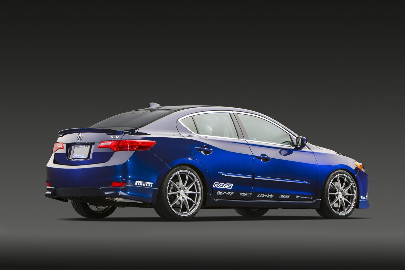 Acura ILX Street Build Debuts at 2012 SEMA