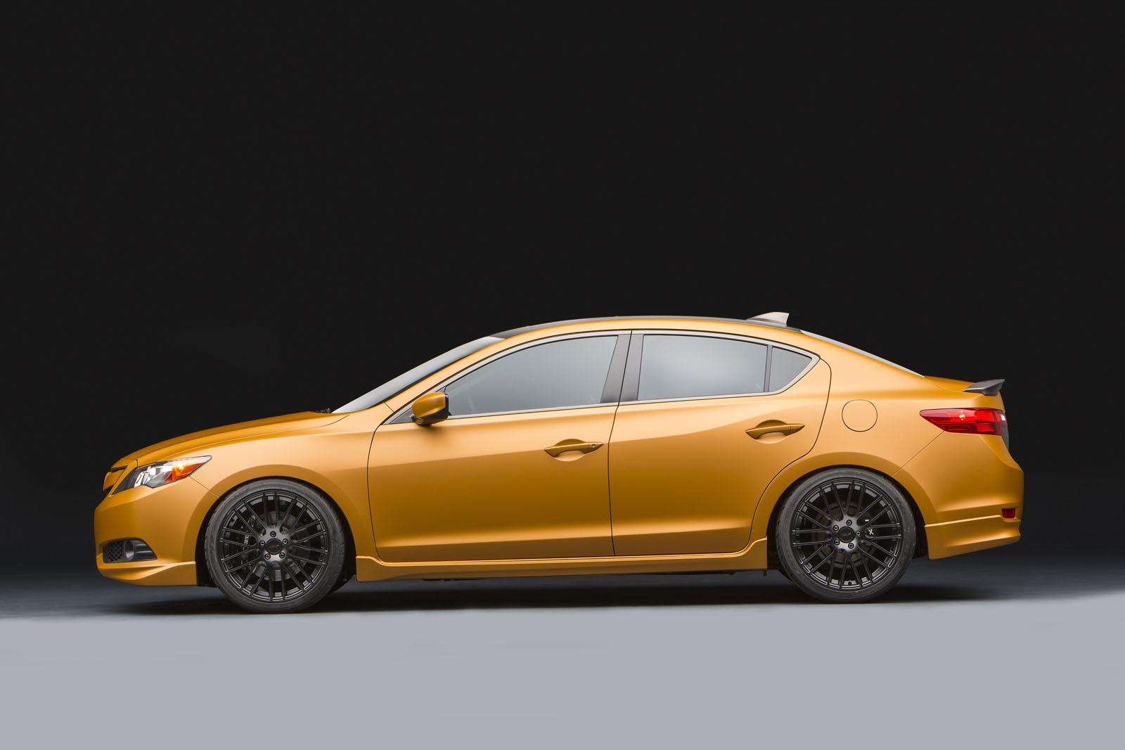 Acura Joins Sema With Custom Performance Sedans Photo Gallery