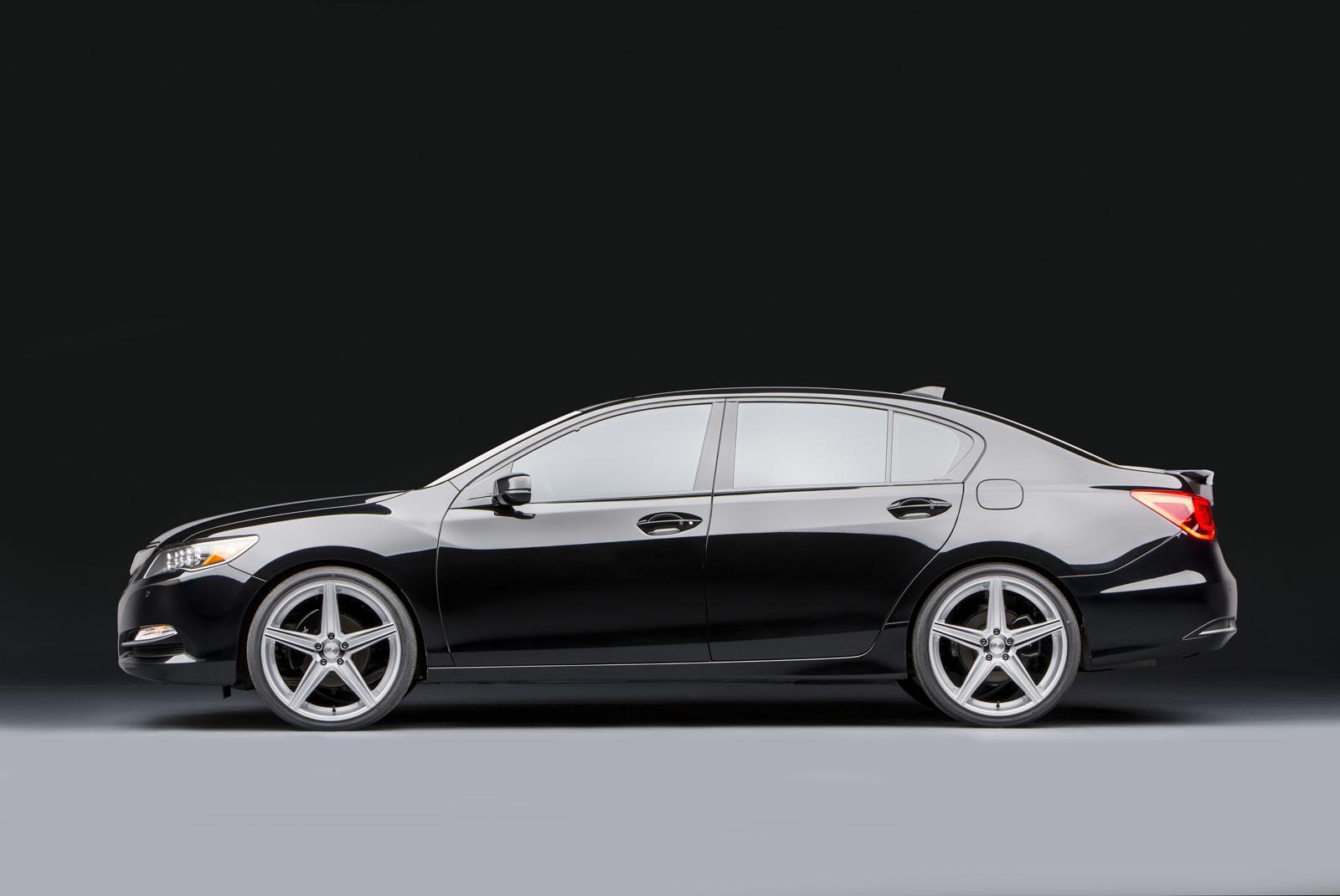 Acura Joins 2013 SEMA with Custom Performance Sedans - autoevolution