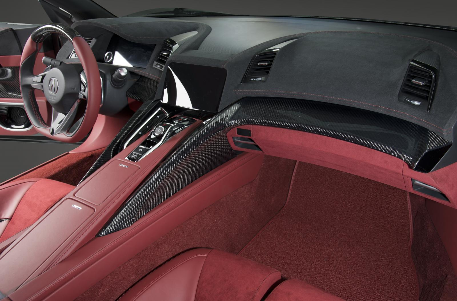 Acura Nsx Concept Gets Interior In Detroit Autoevolution