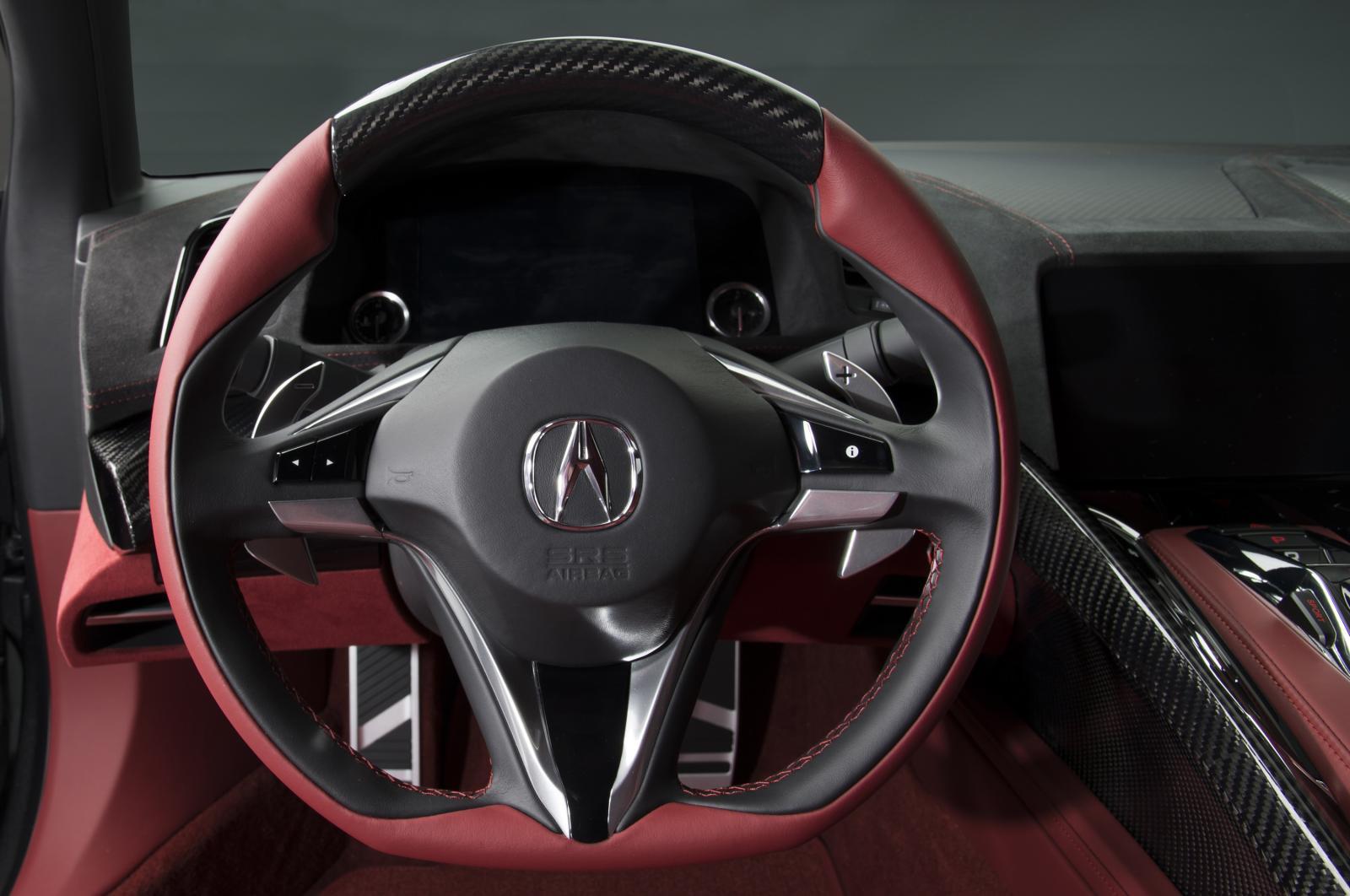2015 Acura Tlx Tech >> Acura NSX Concept Gets Interior in Detroit - autoevolution