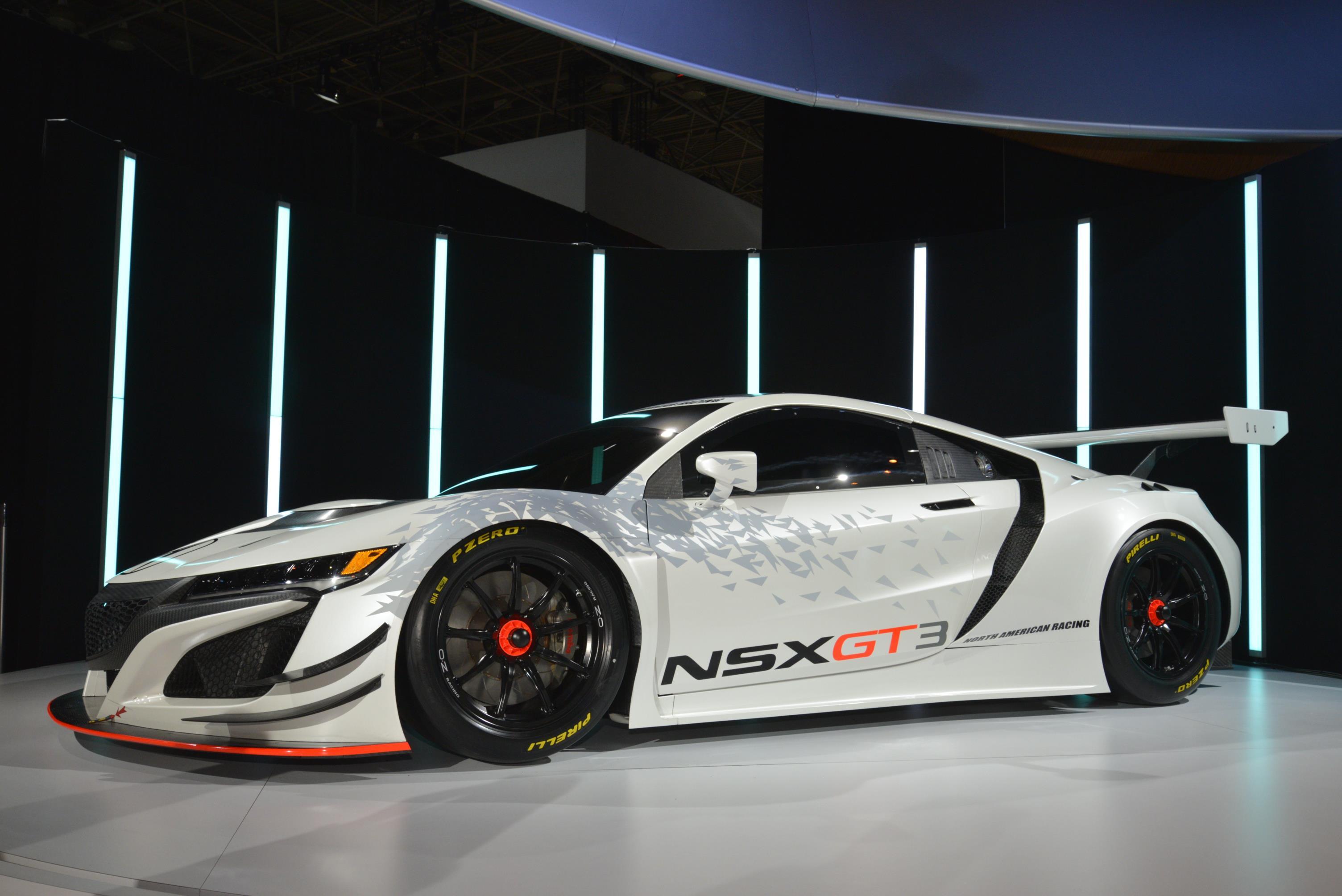 Acura Nsx Gt3 Hits New York As Pure Racecar No Hybrid